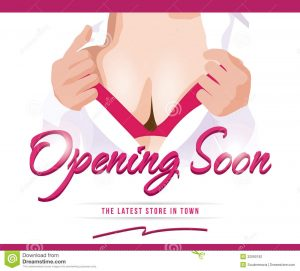 coming soon flyer sexy opening soon ad template title typography background