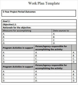 common core lesson plan template work plan template