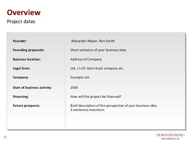 company description example