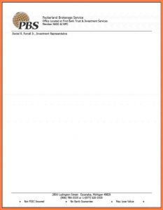 company letterhead example company letter head template church letterhead samples free