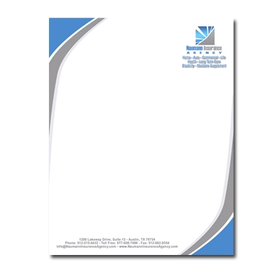 Company letterhead template word template business for Word letterhead template with logo