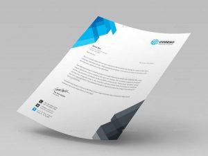 company letterhead templates business personal letterhead e