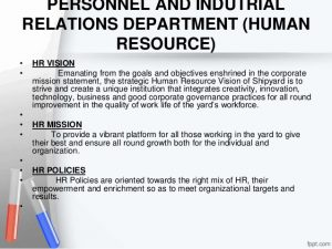 company mission statement examples cochin shipyard limited organisational study
