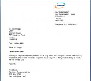 complaint form template feedback mcomplaint l
