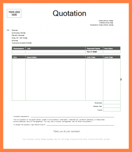 complaints letter samples quote template word quote template word quotation template