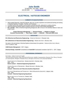 computer engineer resumes chief electrical engineer resume