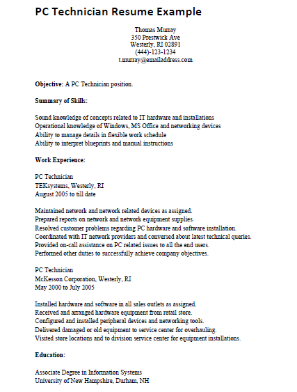 computer engineering resumes