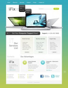 computer repair website computer repair website template home big