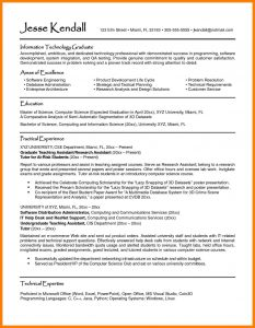 computer science internship resume masters student resume examples of student resumes sample resumes university career services - Computer Science Resume Sample