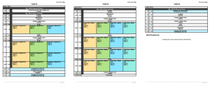 conference agenda template meeting planner template x