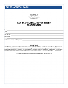 confidential fax cover sheet confidential fax cover sheet