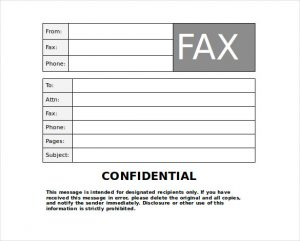 confidential fax cover sheet editable paramount confidential fax printable editable pdf doc