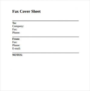 confidential fax cover sheet fax cover sheet download for free