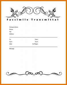 confidential fax cover sheet fax cover sheet format thum modern