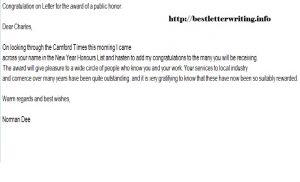 congratulation e mail congratulation letter