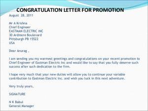congratulation e mail social correspondence