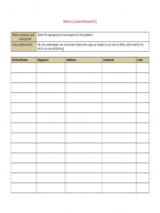 construction budget template legal petition template d
