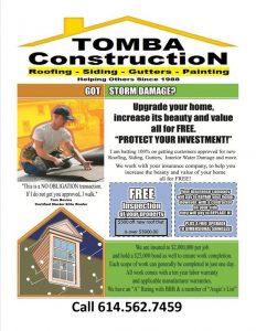 construction estimate form flyer tomba construction