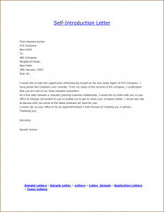 consultant proposal template letter of introduction template sample self introduction letter