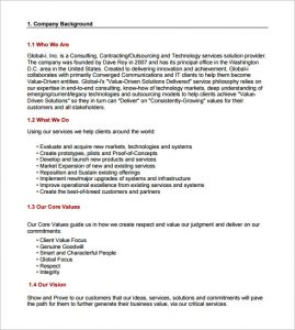 consulting proposal template business consulting proposal template
