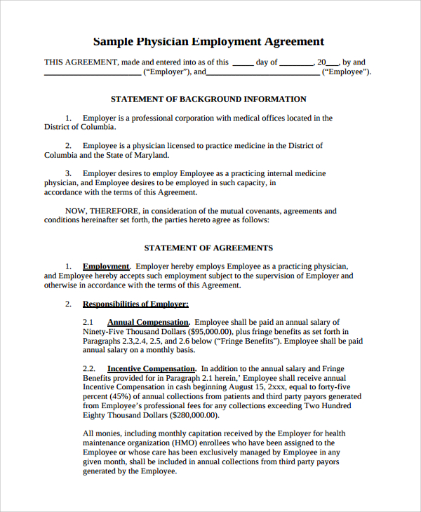 contract for services template