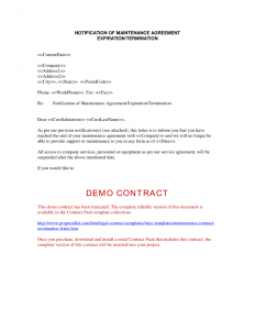 High Quality Contract Termination Letter Contract Termination Letter Regarding Termination Of Contract Letter