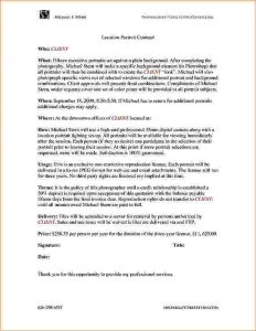 contractor bid template contract format contract