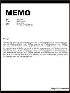 contractor contract sample memo letter format