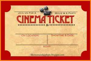 contractor proposal template cinema tickets template