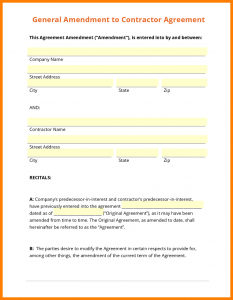 contractor proposal template general contractor contract template