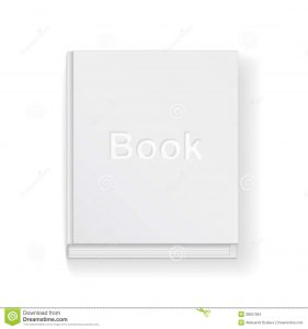 cookbook template free book template closed white background top view