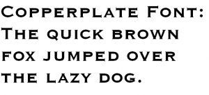 cool fonts download ms copperplate sample