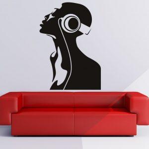 cool wall art cool dj wall decals