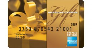 corporate business cards gold gift card (x)