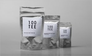 corporate identity package tee tea corporate logo identity design german minimalism bauhaus graphics packaging