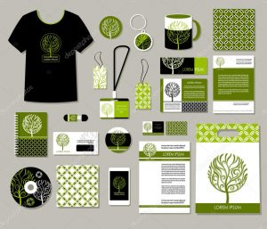 corporate identity package depositphotos stock illustration tree logo corporate identity templates