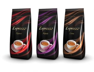 corporate identity package espresso line