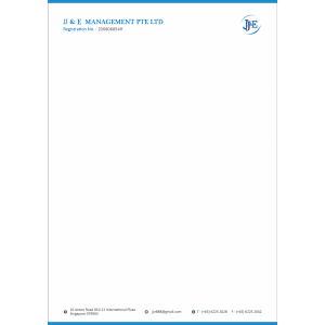 corporate identity package letterhead