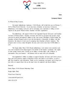 corporate sponsorship letter corporate sponsorship request letter