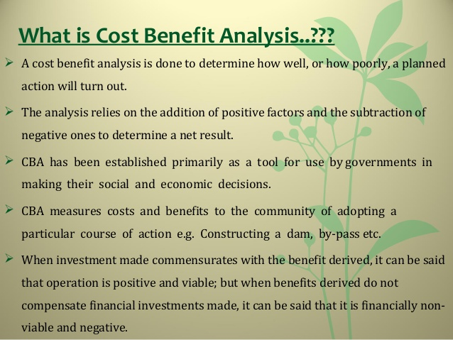 Cost Analysis Template  Template Business
