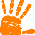 counseling intake form orange hand print volunteer