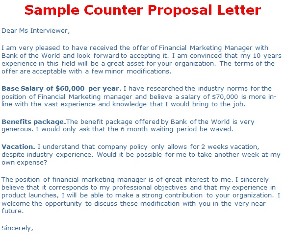Counter fer Letter
