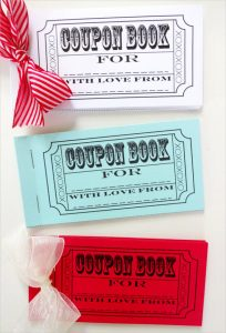 coupon book template colorful sample coupon book template
