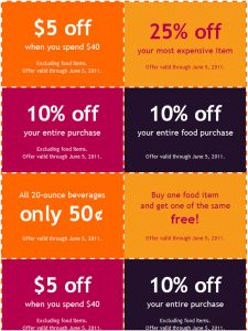 coupon book template coupon book template