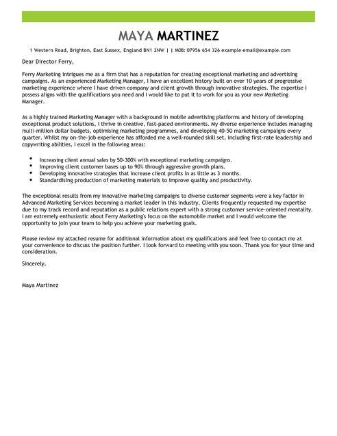 cover letter for graphic designer