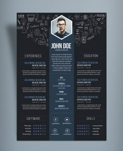 cover letter free template free creative resume cv designtemplate psd file