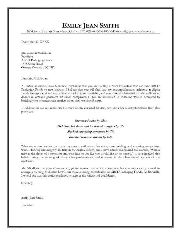 cover letter free template