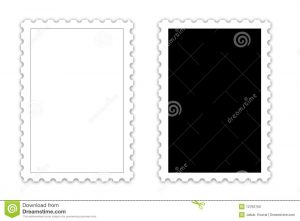 cover letter free template postage stamp template