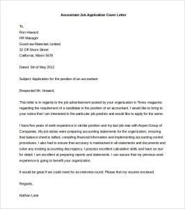 cover letter template word accountant job application cover letter template word doc