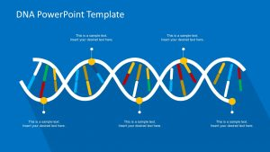 creative powerpoint templates dna powerpoint template x